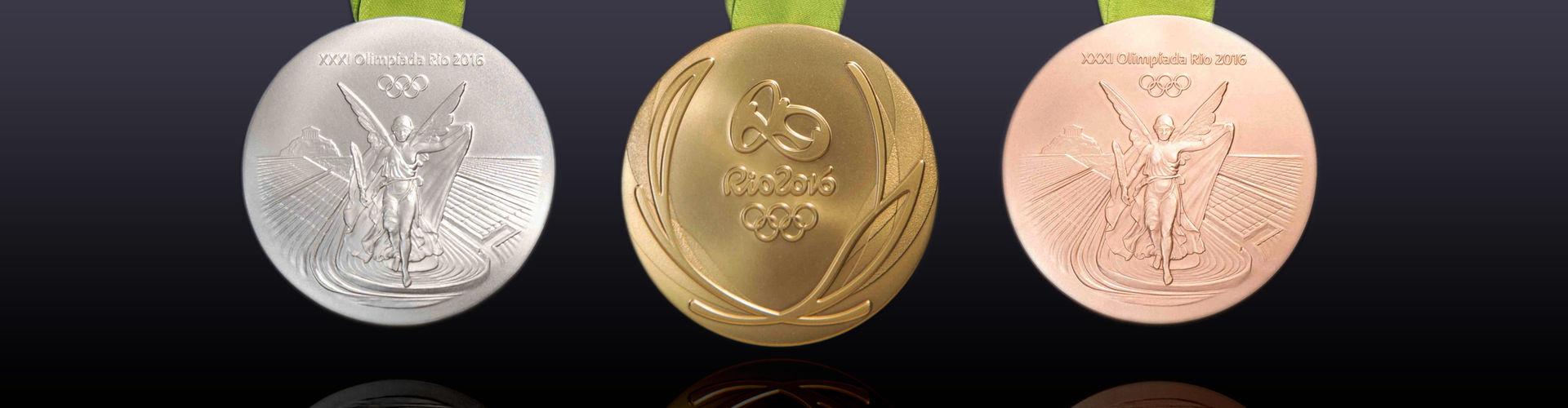 Medaile pro 2020 olympijských her, který má být vyrobeny z recyklovaného Metals